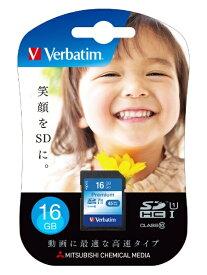 Verbatim バーベイタム SDHCカード Verbatim(バーベイタム) SDHC16GJVB5 [16GB /Class10][SDHC16GJVB5]
