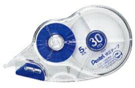 ぺんてる Pentel [修正テープ]30m修正テープ 使いきりタイプ(テープ幅:5mm) XZT515-W