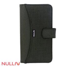 BELEX ビーレックス iPhone X用 手帳型 Fashion Walle Case ブラック BLNL013BK