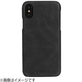 KRUSELL クルーセル iPhone X用 Sunne Cover Apple Vintage ブラック 61105