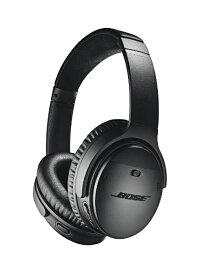 BOSE ボーズ ブルートゥースヘッドホン QUIETCOMFORT 35 WIRELESS HEADPHONES II ブラック QUIETCOMFORT35II [Bluetooth /ノイズキャンセリング対応][ワイヤレスヘッドホン QUIETCOMFORT35IIBLK]