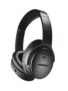 BOSE ブルートゥースヘッドホン QUIETCOMFORT 35 WIRELESS HEADPHONES II ブラック QUIETCOMFORT35II [Bluetooth /ノイズキャンセリング対応][ワイヤレスヘッドホン QUIETCOMFORT35IIBLK]