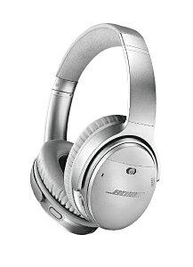 BOSE ブルートゥースヘッドホン QUIETCOMFORT 35 WIRELESS HEADPHONES II シルバー QUIETCOMFORT35II [Bluetooth /ノイズキャンセリング対応][ワイヤレスヘッドホン QUIETCOMFORT35IISLV]
