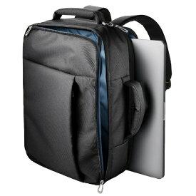 エレコム ELECOM 3WAYバッグ/ベーシックタイプ/表面撥水加工/ブラック[BMSN03BK]