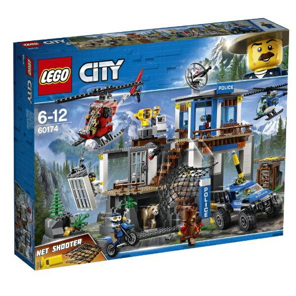 【送料無料】 レゴジャパン LEGO(レゴ) 60174 シティ 山のポリス指令基地