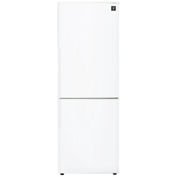 【標準設置費込み】 シャープ SHARP 2ドア冷蔵庫 (271L) SJ-PD27D-W ホワイト系