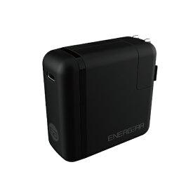 GOPPA ゴッパ [Type-C]AC - Type-C充電器 65W 5A +Type-C⇔Type-Cケーブル 1.8m Energear ブラック E00460A1CBLKUS [1ポート /USB Power Delivery対応]