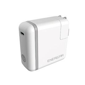 GOPPA ゴッパ [Type-C]AC - Type-C充電器 46W USB PD対応 5A +Type-C⇔Type-Cケーブル 1.8m (1ポート・ホワイト) E00460A1CWHTUS