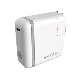 GOPPA ゴッパ [Type-C]AC - Type-C充電器 65W USB PD対応 5A +Type-C⇔Type-Cケーブル 1.8m (1ポート・ホワイト) E00650A1CWHTUS
