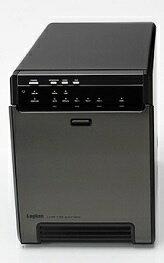 ロジテック Logitec LGB-4BNHEU3 HDDケース ブラック [SATA /4台 /3.5インチ対応][LGB4BNHEU3]