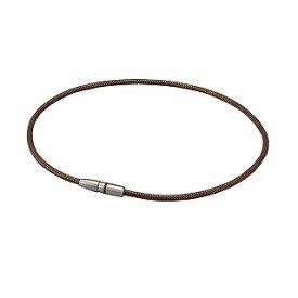 ファイテン PHITEN RAKUWA磁気チタンネックレス BULLET(ブラウン×ゴールド/50cm) 0217TG738153