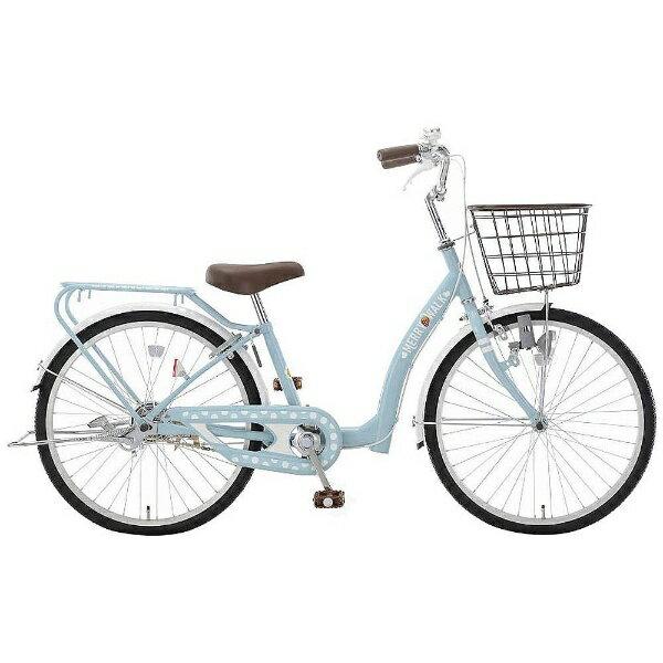 【送料無料】 アサヒサイクル 24型 子供用自転車 メリーウォーク24(ブルーグレー/シングルシフト) CWJ24【2018年モデル】【組立商品につき返品不可】 【代金引換配送不可】【メーカー直送・代金引換不可・時間指定・返品不可】