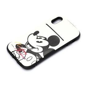 PGA iPhone X用 ディズニー タフポケットケース ミッキーマウス・ホワイト PG-DCS300MKY