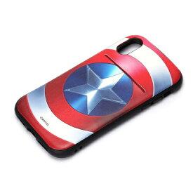 PGA iPhone X用 マーベル タフポケットケース キャプテン・アメリカ PG-DCS307CTA