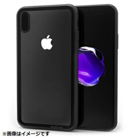 ABSOLUTE TECHNOLOGY アブソルート iPhone X用 LINKASE CLEARケース Gorilla Glass ブラック縁・ブラックTPU ATLCGIPX/BLK