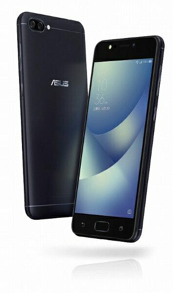 【送料無料】 ASUS ZenFone 4 Max ネイビーブラック「ZC520KLBK32S3」 Android 7.1.1・5.2型・メモリ/ストレージ:3GB/32GB nanoSIM×2 SIMフリースマートフォン