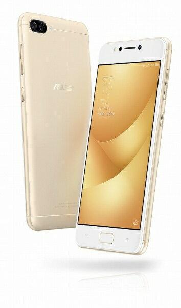 【送料無料】 ASUS エイスース ZenFone 4 Maxサンライトゴールド「ZC520KLGD32S3」 Snapdragon 430 5.2型・メモリ/ストレージ:3GB/32GB nanoSIM×2 ドコモ/au/YmobileSIM対応 SIMフリースマートフォン[ZC520KLGD32S3]