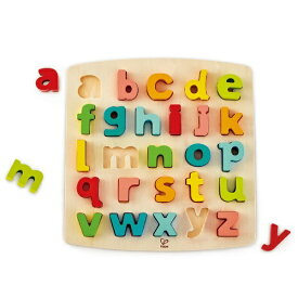 HAPE ハペ E1552A アルファベットパズル(小文字)