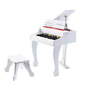 HAPE ハペ E0338A デラックスグランドピアノ(白色)
