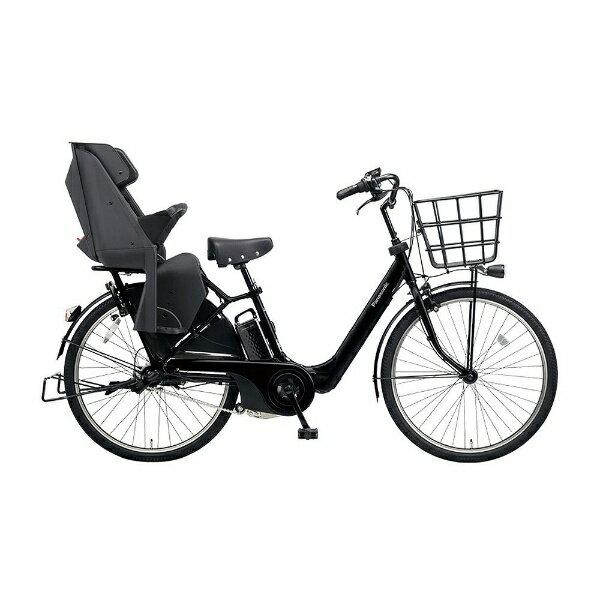 【送料無料】 パナソニック 26型 電動アシスト自転車 ギュット・アニーズ・F・DX(マットジェットブラック/内装3段変速) BE-ELA63B【2018年モデル】【組立商品につき返品不可】 【代金引換配送不可】