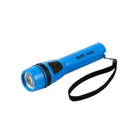 ELPA エルパ DOP-280-BL 懐中電灯 ブルー [LED /単3乾電池×2 /防水]