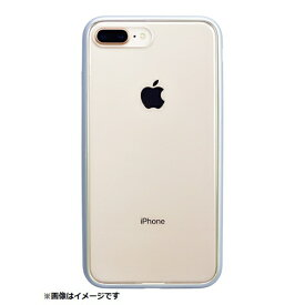 パワーサポート POWER SUPPORT iPhone 8 Plus用 Shock proof Air Jacket ラバーシルバー PBK-50