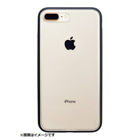 パワーサポート POWER SUPPORT iPhone 8 Plus用 Shock proof Air Jacket ラバーブラック PBK-52
