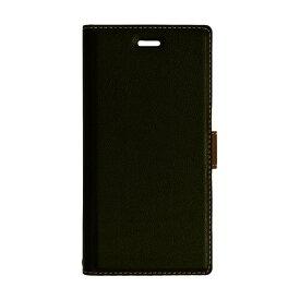 ラスタバナナ RastaBanana ASUS ZenFone 4 MAX (ZC520KL)薄型手帳ケース サイドマグネット BK×DBR