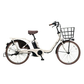 パナソニック Panasonic 22型 電動アシスト自転車 ギュット・ステージ・22(ホワイトグレー/内装3段変速) BE-ELMU232F2【2018年モデル】【組立商品につき返品不可】 【代金引換配送不可】