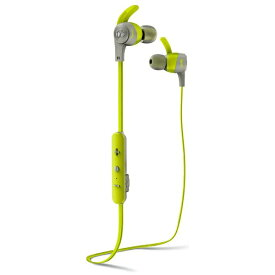 MONSTERCABLE bluetooth イヤホン カナル型 グリーン MH-ISRT-ACH-IE-GR-BT [リモコン・マイク対応 /ワイヤレス(左右コード) /Bluetooth][MHISRTACHIEGRBT]