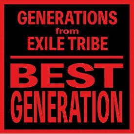エイベックス・エンタテインメント Avex Entertainment GENERATIONS from EXILE TRIBE/BEST GENERATION(International Edition)(Blu-ray Disc付)【CD】