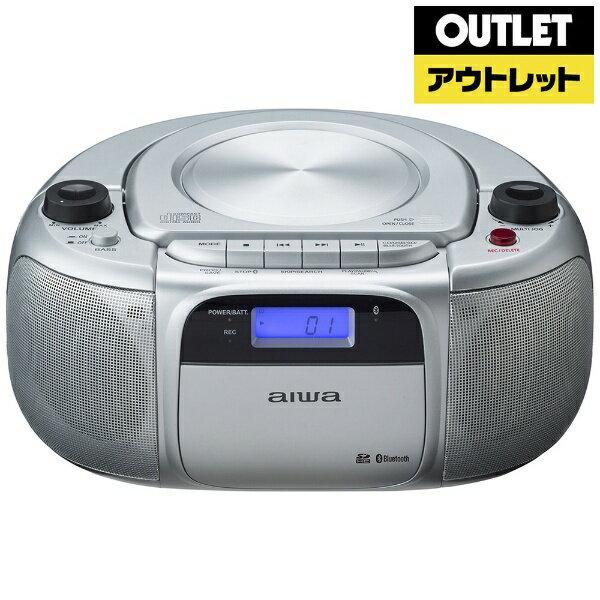 aiwa アイワ CR-BUE30 CDラジオ [Bluetooth対応 /ワイドFM対応][CRBUE30]