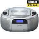 【送料無料】 aiwa CR-BUE30 CDラジオ aiwa