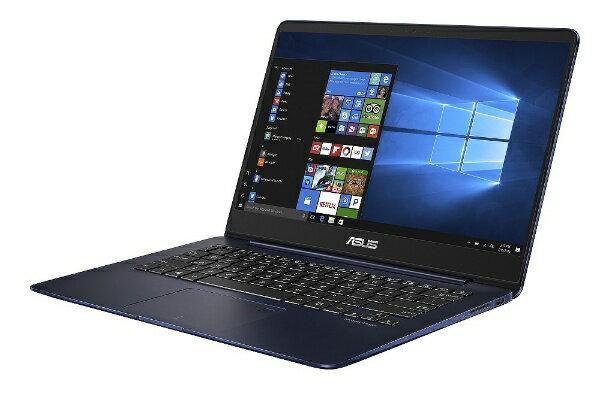 【送料無料】 ASUS 14型ノートPC[Office付き・Win10・Core i5・SSD 256GB・メモリ 8GB] ZenBook UX430UA-8250S ロイヤルブルー[UX430UA8250S]