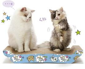 猫壱 necoichi バリバリ ベッド L猫柄