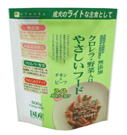 ペッツルート PetzRoute クロレラ野菜入りやさしいフードライト 600g