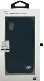 エアージェイ air-J iPhone X用 BMW シリコンバックカバー ネイビー BMHCPXSILNA