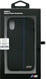 エアージェイ air-J iPhone X用 BMW PUレザーハードケース ブラック BMHCPXCAPNBK