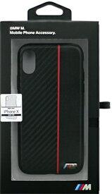 エアージェイ air-J iPhone X用 BMW PUレザーハードケース ブラック BMHCPXCAPRBK