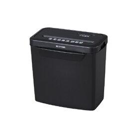 アイリスオーヤマ IRIS OHYAMA P5GCX 電動シュレッダー ブラック [クロスカット /A4サイズ][P5GCX]