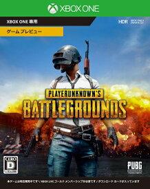 マイクロソフト Microsoft PLAYERUNKNOWN'S BATTLEGROUNDS【Xbox Oneゲームソフト】