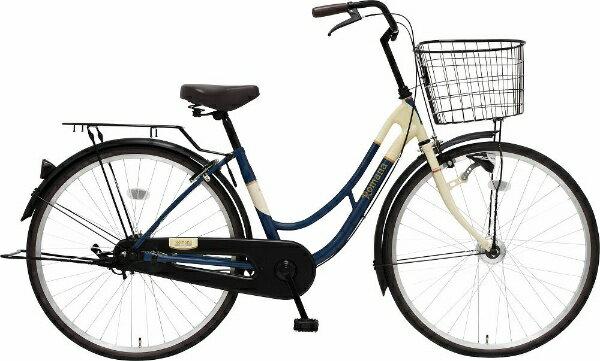 【送料無料】 MARUKIN 26型 自転車 ロマーナF HD 261-K(d-ブルー/シングルシフト) 【代金引換配送不可】【メーカー直送・代金引換不可・時間指定・返品不可】