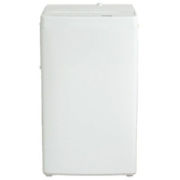 【標準設置費込み】 アマダナ 全自動洗濯機 (洗濯5.5kg)「amadana TAG label」 AT-WM55-WH 【ビックカメラグループオリジナル】[ATWM55] [一人暮らし 単身 単身赴任 新生活 家電]