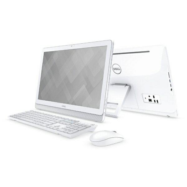 【送料無料】 DELL 21.5型デスクトップPC[Office付き・Win10・Core i3・HDD 1TB・メモリ 4GB] Inspiron 22 3264 AIO ホワイト AI36B-7WHB ホワイト [HDD 1TB]