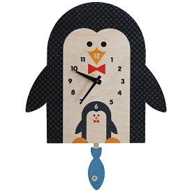 ダイヤモンド 掛け時計 「modern moose(モダンムース)3Dペンギン振り子 PCPEN039」 9806057