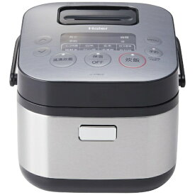 ハイアール Haier JJ-XP2M31E-XK 炊飯器 URBAN CAFE SERIES(アーバンカフェシリーズ) ステンレスブラック [3合 /マイコン][JJXP2M31E] [一人暮らし 単身 単身赴任 新生活 家電]