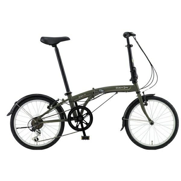 【送料無料】 DAHON 20型 折りたたみ自転車 SUV D6(マットカーキ/6段変速)【組立商品につき返品不可】 【代金引換配送不可】【メーカー直送・代金引換不可・時間指定・返品不可】