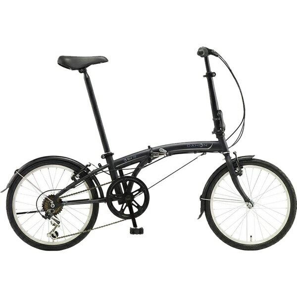 【送料無料】 DAHON 20型 折りたたみ自転車 SUV D6(マットブラック/6段変速)【組立商品につき返品不可】 【代金引換配送不可】【メーカー直送・代金引換不可・時間指定・返品不可】