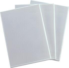 ロアス LOAS DVDケース 6枚収容×3 ホワイト DVD-A008-3W[DVDA0083W]
