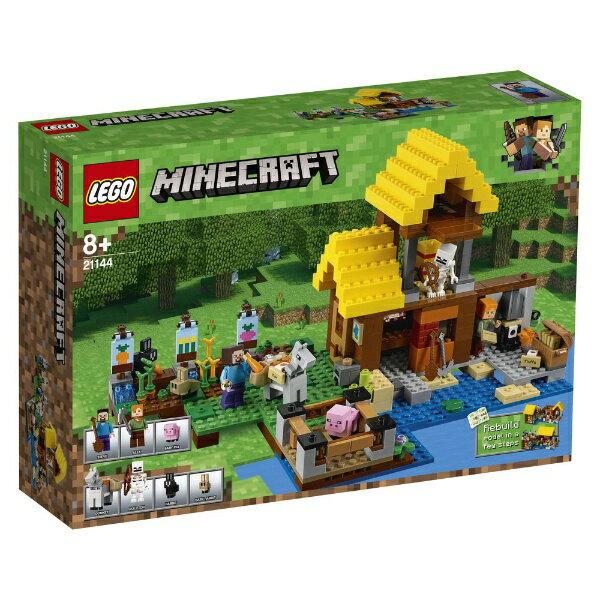 【送料無料】 レゴジャパン LEGO(レゴ) 21144 マインクラフト 畑のコテージ